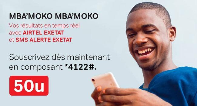 EXETAT 2020 : Comment vérifier les résultats avec Airtel
